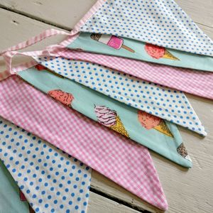 Ice Cream Party Bunting - bunting & garlands