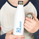 H2 Eau Personalised Thermal Cola Bottle