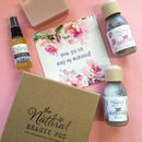 Bridesmaid Thank You Natural Organic Gift Box