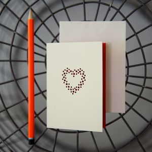 Elaborate Heart Card - shop by category