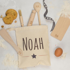 Personalised Kids Star Baker Set