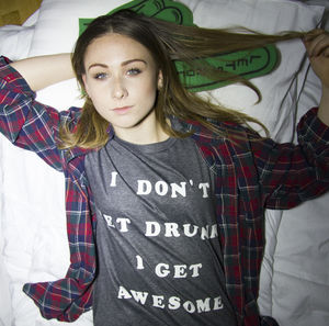 'Get Awesome' Slogan Unisex T Shirt - tops & t-shirts