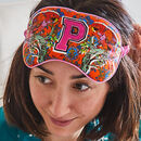Personalised Alphabet Silk Eye Mask: Letters A To Z