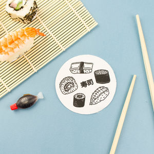 Yummy Sushi Patch - children's jewellery