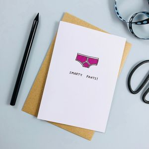 'Smarty Pants' Card