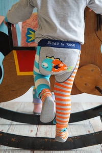 Fish Leggings - clothing