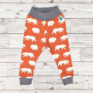 Organic Bear Leggings - trousers & leggings