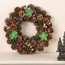 Wintergreen Luxury Winter Wreath