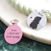Personalised Pet Name ID Tag - pets