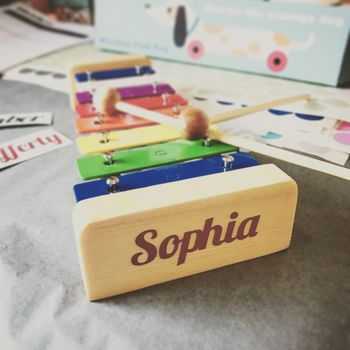 Personalised Vintage Style Xylophone