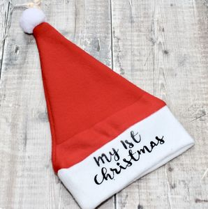 Personalised Baby's Santa Hat - new in christmas