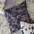 Buds And Butterflies Cushion
