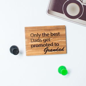 Personalised Only The Best Dads…Magnet