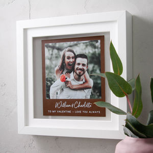 Leather Photo Memory Print
