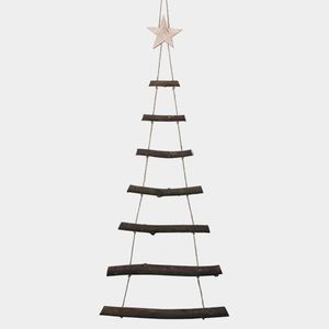 Wooden Branch Alternative Scandi Christmas Tree - christmas trees