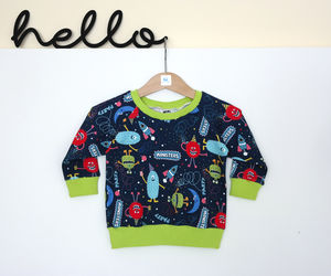 Monster Party Sweater - children's jumpers