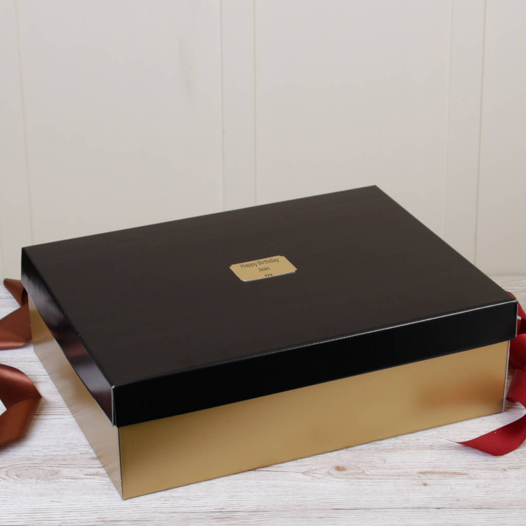 extra large personalised gift boxes by dibor ...