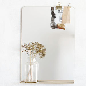 Ledge Mirror - decorative accessories
