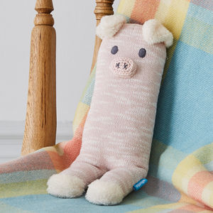 Super Soft Perry Pig Knit Toy - gifts for babies