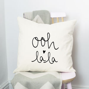 Ooh La La Cushion - cushions
