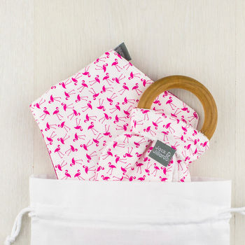 Dancing Flamingos Gift Set