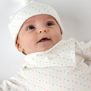 First Kisses Organic Adjustable Bandana Bib - baby care