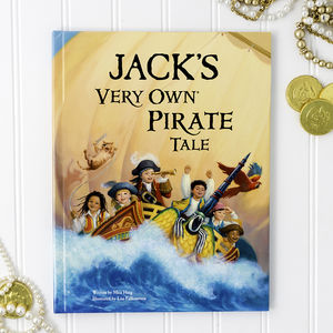 My Very Own Pirate Tale Personalised Book - books