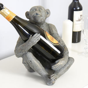 Monkey Wine Bottle Holder - kitchen