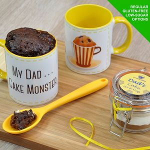 My Dad Cake Monster Daddy's Treat Cake In A Cup Kit - shop by price