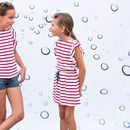Girls French Designer Nautical Tunic Dress