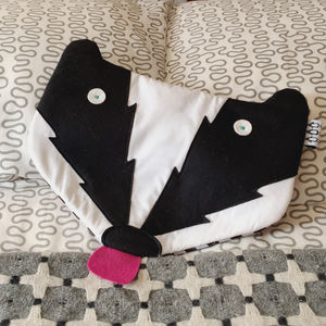 Ace The Badger Hot Water Bottle