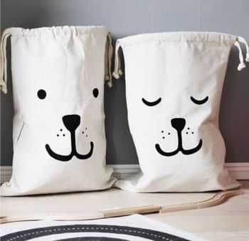 Canvas Toy Bag