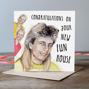 New Fun House - new home cards
