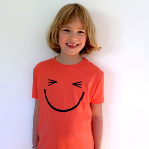 Blink Smiley Face Children's T Shirt