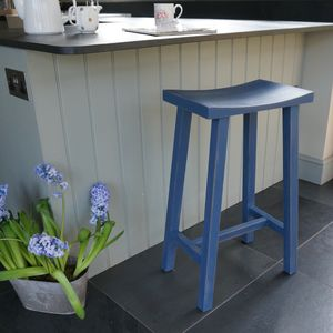 Scandi Stool Hand Painted In Any Colour