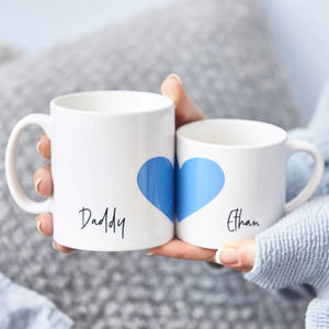 Daddy And Me Personalised Mug Set