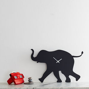 Elephant Clock With Wagging Tail - kitchen