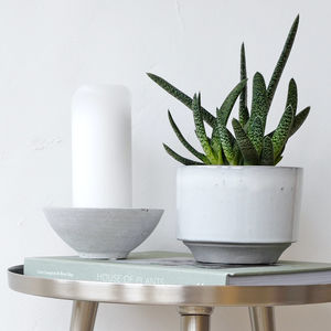 Concrete Candle Holder - home accessories