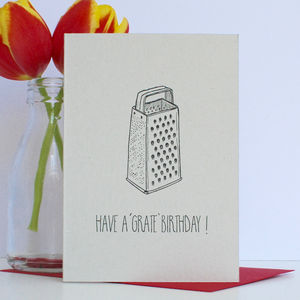 Grate Birthday Card - summer sale