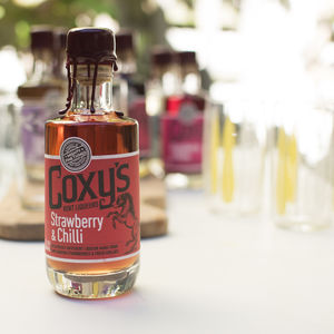 Coxy's Strawberry And Chilli Liqueur