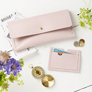 Travel And Card Holder Set