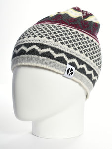 Cormack 'Nordicai' Merino Wool Beanie Hat - hats, scarves & gloves
