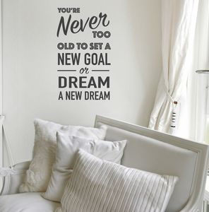 Never Too Old To Dream A New Dream - decorative accessories