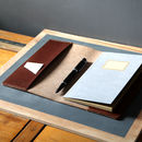 Leather Notepad Cover A5