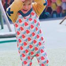 Ice Lolly Organic Romper