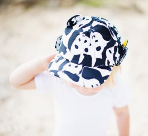 Children's Baseball Sun Hat With Neck Flap