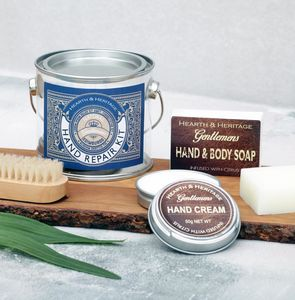 A Hand Care Gift Set For Dad To Keep His Hands Soft