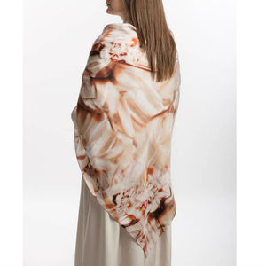 Halcyon Square Silk Scarf