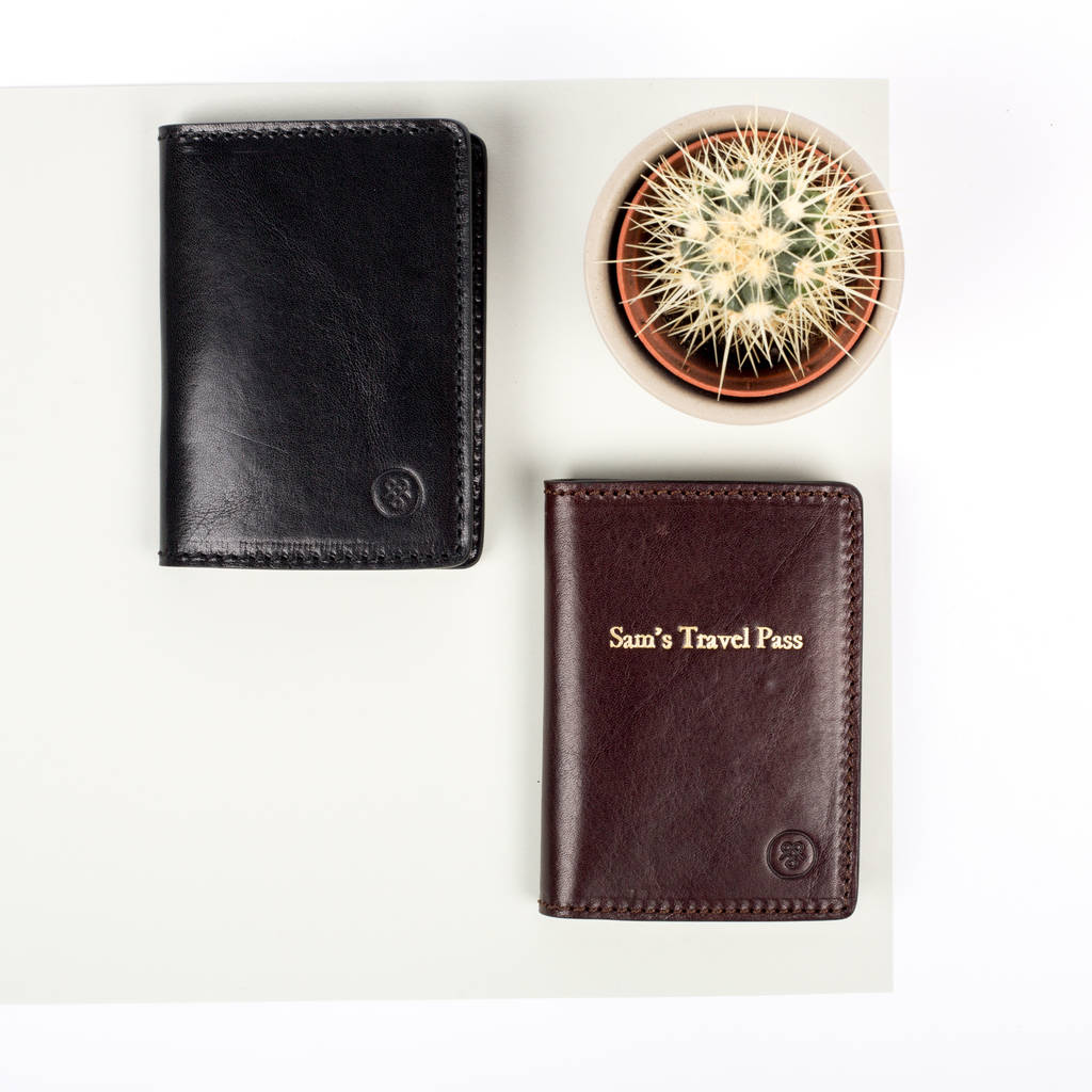 fe2ea9e9d2 personalised leather oyster card holder 'vallata' by maxwell scott ...