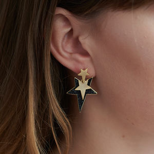 Statement Star Earrings